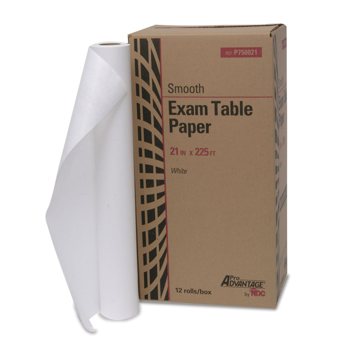 Exam Table Paper Rolls, Smooth