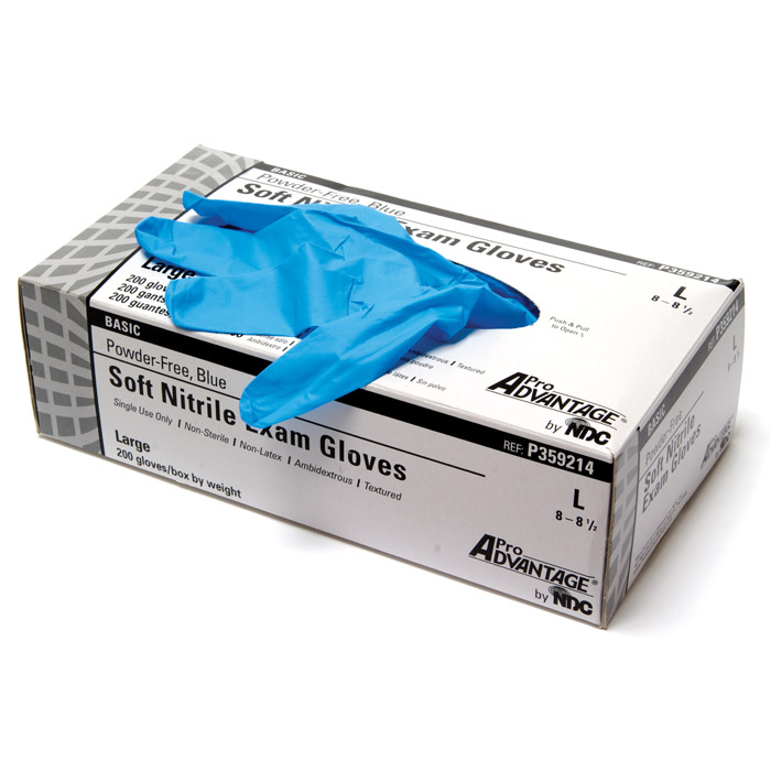 Soft Nitrile Exam Gloves Powder-Free