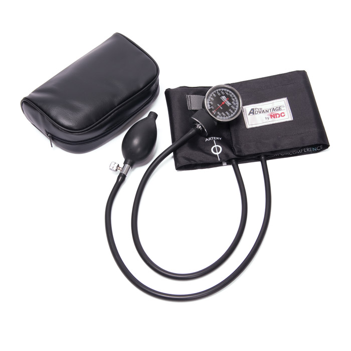 Deluxe Aneroid Sphygmomanometer, Black