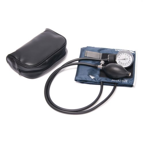 Standard Pocket Aneroid Sphygmomanometer, Navy Blue