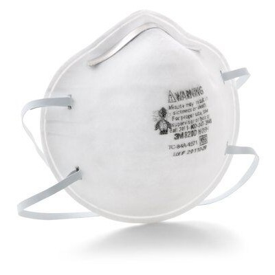 3M Particulate Respirator Mask, N95 8200