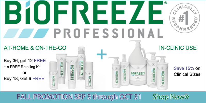BioFreeze Fall Promotion